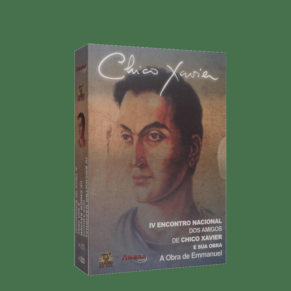 Encontro Nacional dos Amigos de Chico Xavier e sua Obra, 4º ( 4 CDs e 4 DVDs )