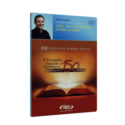 Jesus---Eis-o-Psicoterapeuta-Integral-da-Terra--DVD-XVI-Conf.Est.Esp.PR--1