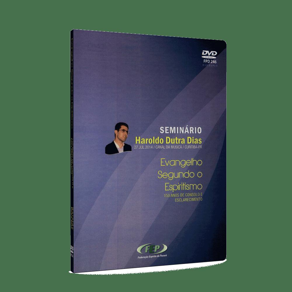 Evangelho Segundo o Espiritismo - 150 Anos de Consolo e Esclarecimento [DVD duplo